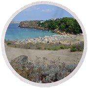 Arenal D'en Castell Round Beach Towel