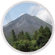 Arenal Round Beach Towel