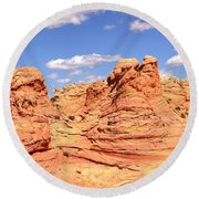 Arizona Candyland Round Beach Towel