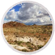 Arizona Cliffs Round Beach Towel