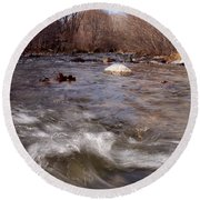 Arizona Creek Round Beach Towel