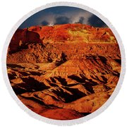 Arizona Mesa 5 Round Beach Towel
