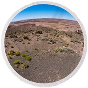 Arizona's Painted Desert #2 Round Beach Towel