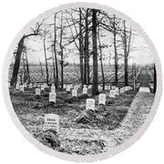 Arlington National Cemetery - C 1867 Round Beach Towel by International  Images