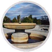Arlington National Cemetery Memorial Fountain Round Beach Towel