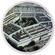 Arlington: Pentagon Round Beach Towel