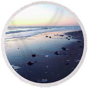 Arms Wide Open Round Beach Towel