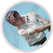 Arnold Palmer- The King Round Beach Towel