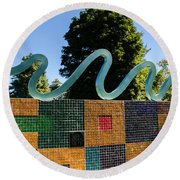 Art In The Park - Louis Armstrong Park - New Orleans Round Beach Towel