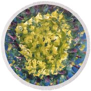 Art Therapy 23rd March 21016 Round Beach Towel
