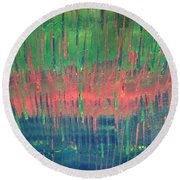 Art Therapy 26th April 2016 Round Beach Towel