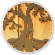 Artsy Fartsy - 9 - Tree Of Life  Round Beach Towel