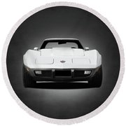 Chevrolet Corvette Sting Ray Round Beach Towel