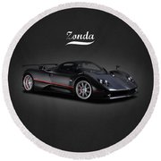 The Zonda Round Beach Towel
