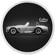 Shelby Cobra 427 Sc 1965 Round Beach Towel
