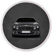 Bentley Continental Gt Round Beach Towel