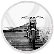The Solo Mount Round Beach Towel