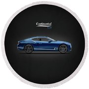 The Continental Gt Round Beach Towel