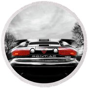 See You Later - Pontiac Trans Am Round Beach Towel