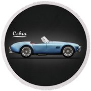 Shelby Cobra 289 1964 Round Beach Towel