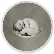 Sally Pearl Round Beach Towel