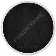 Chilloutzone Round Beach Towel