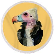 Odd Beauty Round Beach Towel