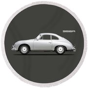 356a Coupe Round Beach Towel