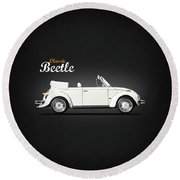 The Classic Beetle Round Beach Towel
