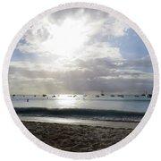 Aruba 2017, 4 Round Beach Towel