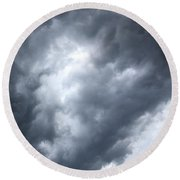 As Above Round Beach Towel