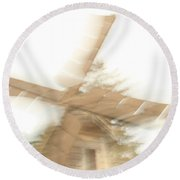 As The Windmill Spins Round Beach Towel