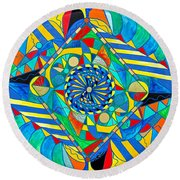 Ascended Reunion Round Beach Towel
