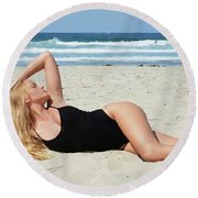Ash318 Round Beach Towel