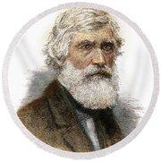 Asher B. Durand, 1796-1886 Round Beach Towel