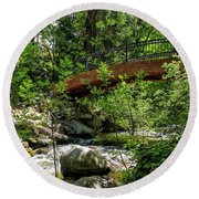Ashland Creek Round Beach Towel