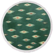 Asia Round Beach Towel