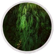 Asparagus Jungle Round Beach Towel