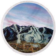 Aspen Round Beach Towel