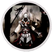 Assassin's Creed II Round Beach Towel