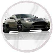 Aston Martin Lmv/r Round Beach Towel