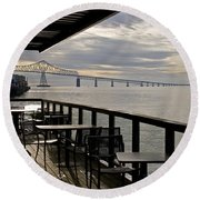Astoria Round Beach Towel