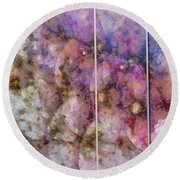 Asynchrony Imagination  Id 16099-024356-74201 Round Beach Towel