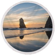 At Cannon Round Beach Towel