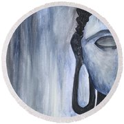 At Ease Round Beach Towel