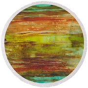 At Low Tide Round Beach Towel