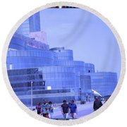 Atalantic America Board Walk And Architecture July 2015 Photography By Navinjoshi At Fineartamerica. Round Beach Towel