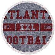 Atlanta Falcons Retro Shirt Round Beach Towel