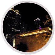 Atlanta Round Beach Towel