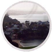 New Zealand - Secluded Cheltenham Beach Round Beach Towel